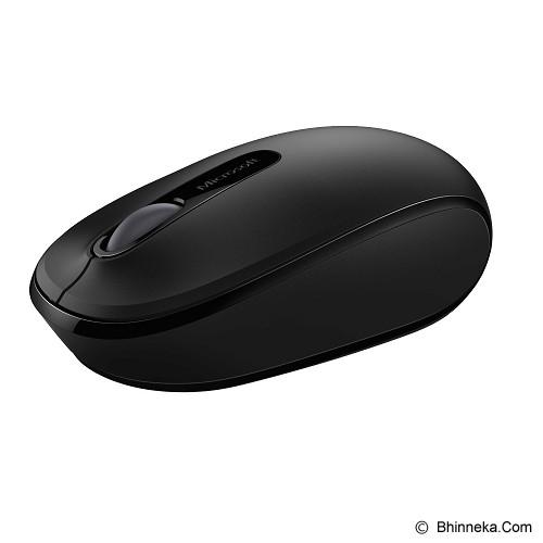 MICROSOFT Wireless Mobile Mouse 1850 [U7Z-00010] - Black - Mouse Mobile